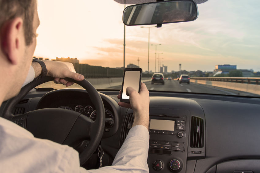 Types of Distracted Driving: Phones and Other Devices
