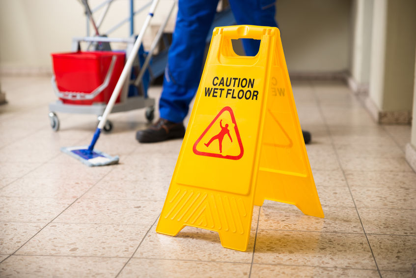 Some Common Causes of Slip-and-Fall Accidents