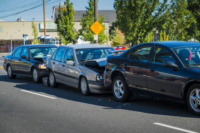 Multiple Vehicle Car Accidents Liability in Massachusetts