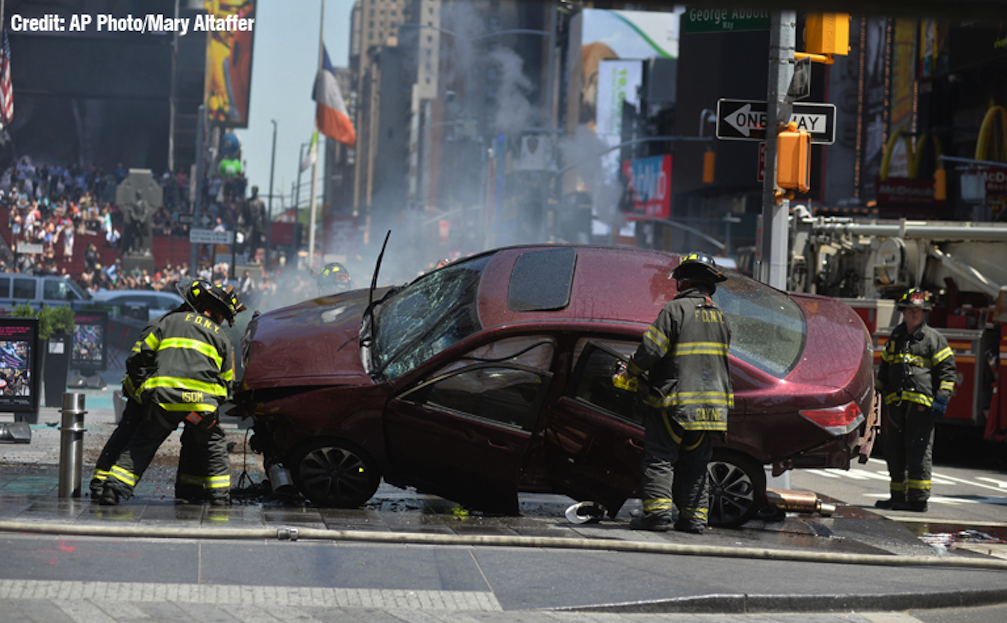 Times Square Attack Highlights Need For Safer Pedestrian Areas