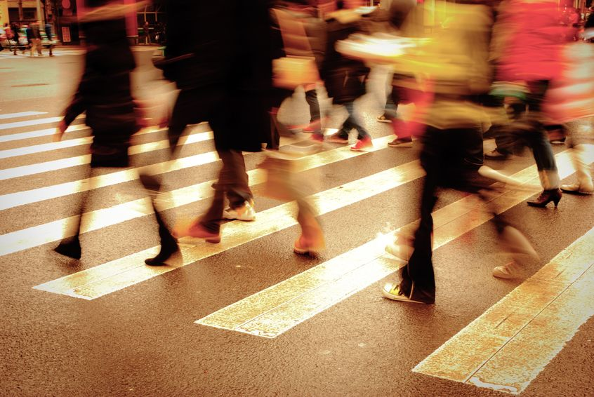 Motor Vehicle-Related Pedestrian Accidents In Massachusetts